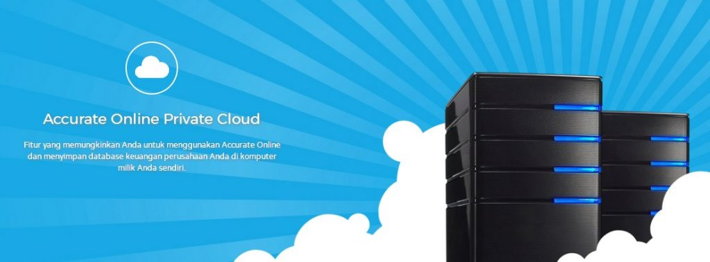 Private cloud accurate online