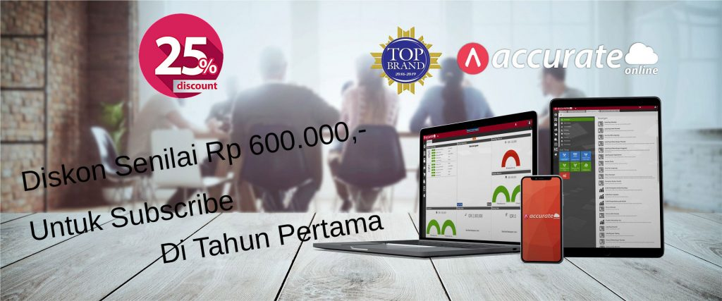 Diskon Accurate Online